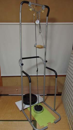 自作のアームレスリング強化器具